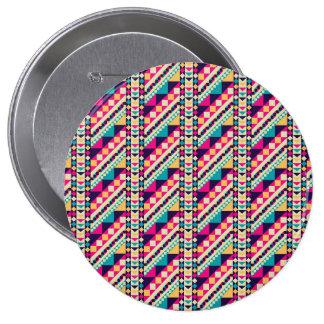 Grande clásico moderno femenino chapa redonda 10 cm