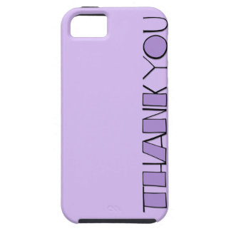 Grande gracias casamata púrpura Tough™ del iPhone iPhone 5 Protector