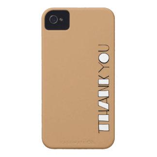 Grande gracias el iPhone blanco 4/4S de la casamat iPhone 4 Case-Mate Protectores