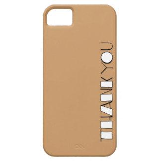 Grande gracias el iPhone blanco 5 de la casamata I iPhone 5 Case-Mate Carcasas