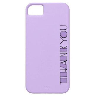Grande gracias el iPhone púrpura 5 de la casamata iPhone 5 Case-Mate Funda