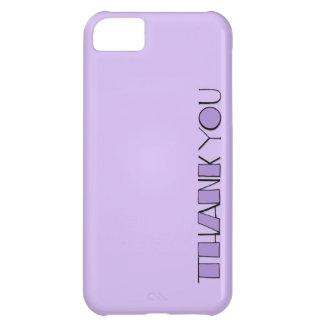 Grande gracias el iPhone púrpura 5 de la casamata  Funda Para iPhone 5C