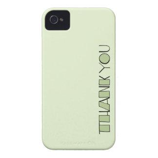Grande gracias el iPhone verde 4/4S de la casamata iPhone 4 Funda