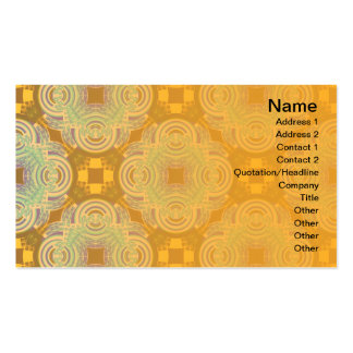 Grande neo del estampado de plores invertido tarjetas de visita