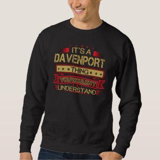 Grande ser camiseta de DAVENPORT