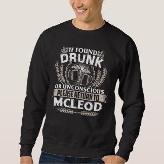 Grande ser camiseta de MCLEOD