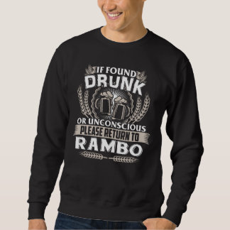 Grande ser camiseta de RAMBO