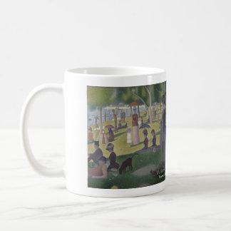 Grande taza histórica de Jatte del La