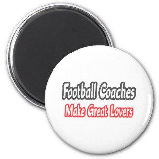 Grandes amantes de los entrenadores de fútbol… iman de frigorífico