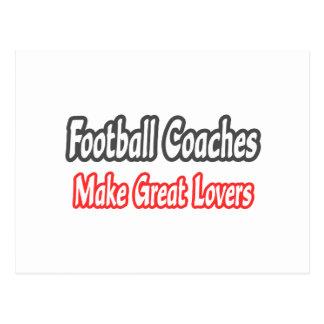 Grandes amantes de los entrenadores de fútbol… postal