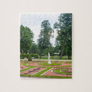 Grandes jardines de Tsarskoye Selo del palacio de Puzzle