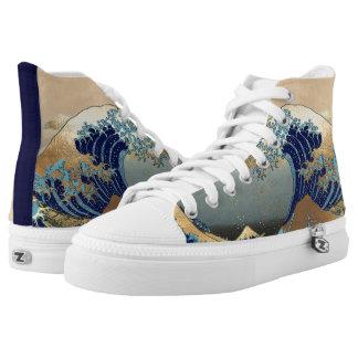 Grandes ondas de Hokusai en Kanagawa