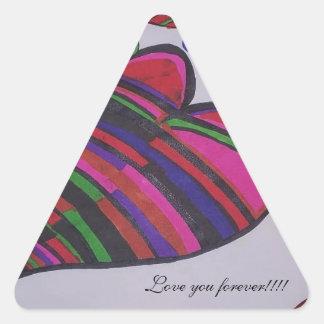 Grandes productos para hacer compras… pegatina triangular