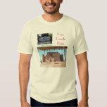 Grandes ruinas de las casas camisetas