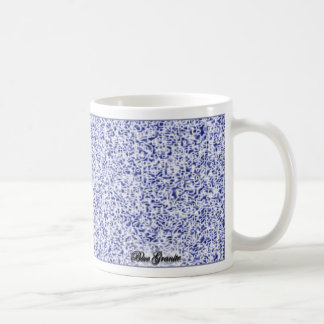Granito azul taza clásica