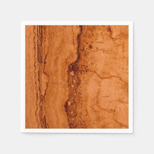 Granito de cobre servilleta desechable