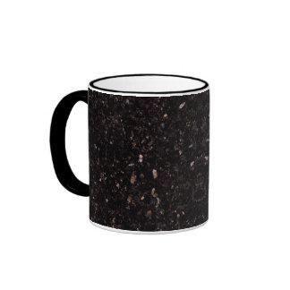 Granito negro taza de dos colores