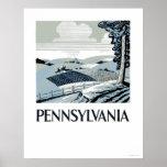 Granja de Pennsylvania WPA 1938 Poster