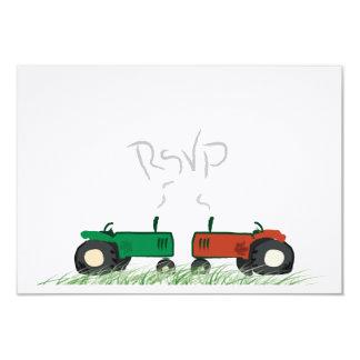 Granja del verano que casa la tarjeta de RSVP Invitación 8,9 X 12,7 Cm