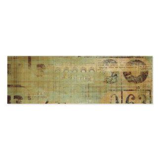 Granja rústica del collage del bingo tarjetas de visita mini