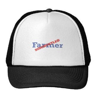 Granjero contrariedad gorras de camionero