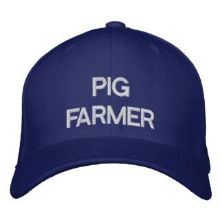 Granjero de cerdo gorras bordadas