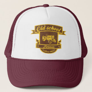 Granjero de la escuela vieja gorra de camionero
