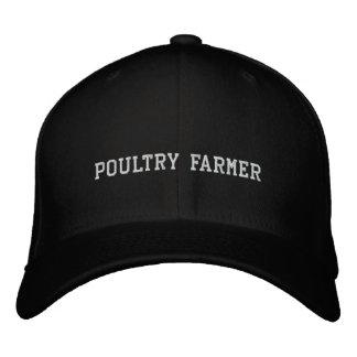 Granjero de las aves de corral gorras de béisbol bordadas