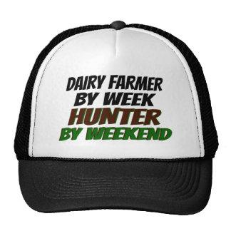 Granjero de lechería del cazador gorro