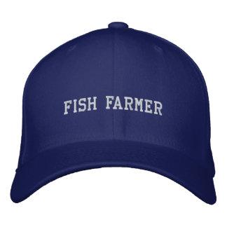 Granjero de los pescados gorra de béisbol