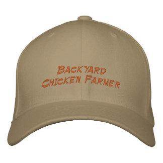 Granjero del pollo del patio trasero gorras de beisbol bordadas