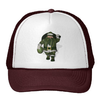 Granjero Papá Noel de la sandía Gorro