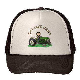 Granjero verde claro gorro de camionero