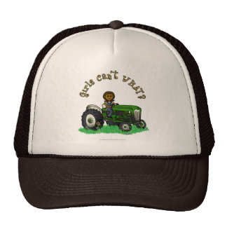 Granjero verde oscuro gorras de camionero