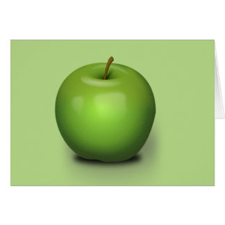 Granny smith Apple Tarjeta De Felicitación