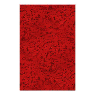 Grano de madera de la mirada del corcho del rojo folleto 14 x 21,6 cm