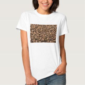 Granos de café camisas