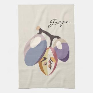 Grape fruit illustration paño de cocina