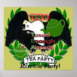 Gravado bastantes ya poster de TEA'd