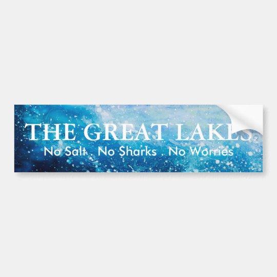 Great Lakes - humor Pegatina Para Coche