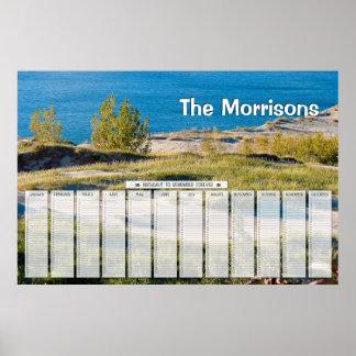 Great Lakes personalizaron el calendario del cumpl Posters