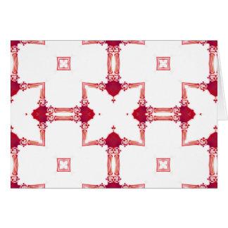 Greca magenta urbana elegante NT del diseñador del Tarjeta De Felicitación