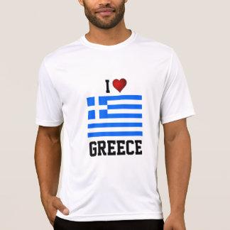 GRECIA: AMO la camiseta de la bandera de GRECIA