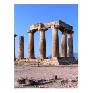 Grecia antigua postal