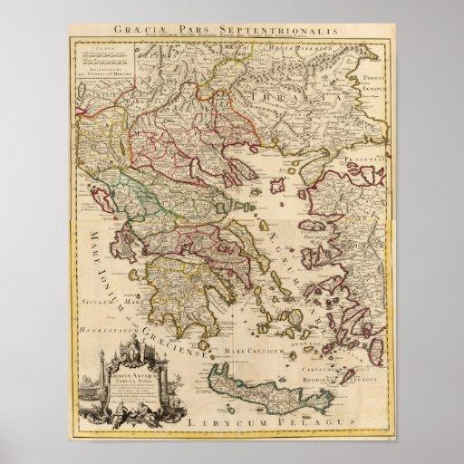 Grecia y Macedonia Posters