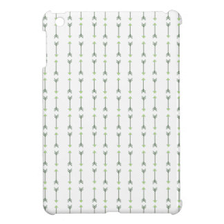 Green Tribal Arrow Pattern Case for iPad Mini