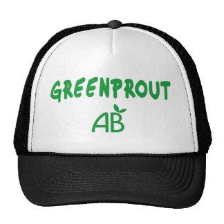 Greenprout ecológico gorras de camionero