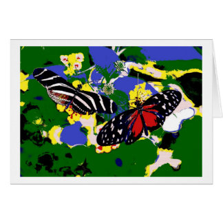 Greeting Card Butterlies Tarjeta De Felicitación