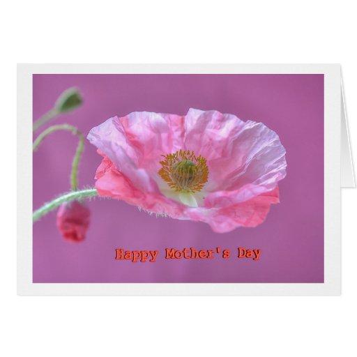 Greeting Card Happy Mothers Day Felicitaciones