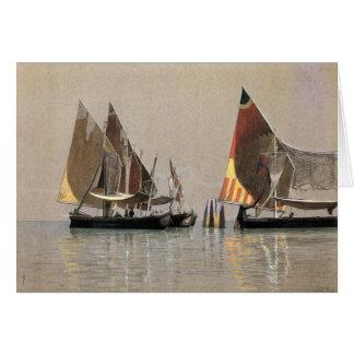 Greetingcard con Guillermo S. Haseltine Painting Tarjeta De Felicitación